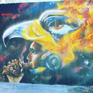Moderne Streetart und alte Mayakultur. Wusstet ihr eigentlich, dass ein Ruf mit der Muschel/dem Schneckengehäuse ungefähr 6km weit zu hören ist?🙂🙂🙂 . . @eldakpak . #streetart #streetartphotography #art #arte #kunst #mural #murales #mayaculture #maya #playadelcarmenmexico #rivieramayamexico #rivieramaya #mexiko #mexico #entdecken #reiseblogger #reisebloggerin #travelinspiration #martinasreisewelt