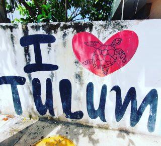 I love Tulum. 💕💕💕💕💕💕 . . . #ilovetulum #tulummexico #tulum #tulumvibes #quintanaroomexico #yucatanpeninsula #streetart #streetartphotography #artwork #instagood #instatravel #instamex #instamexico #entdecken #martinasreisewelt