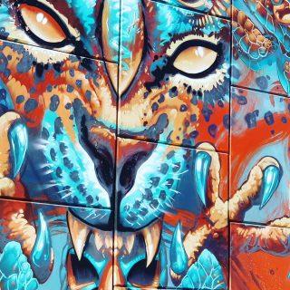Akumal Pueblo hat wunderschöne Streetart zu bieten. Das habe ich bei dem kleinen Ort gar nicht vermutet.😍😍😍 . . . #akumal #akumalmexico #quintanaroomexico #yucatanpeninsula #streetart #streetartphotography #artwork #instamex #instamexico #reiseblog #entdecken #martinasreisewelt